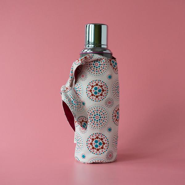 大大兔耳袋/煙火/絢爛粉紅 環保飲料提袋, 隨行杯提袋, 兔耳袋