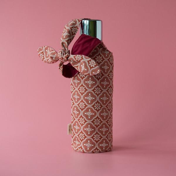 大大兔耳袋/玻璃海棠/名伶深紅 環保飲料提袋, 隨行杯提袋, 兔耳袋