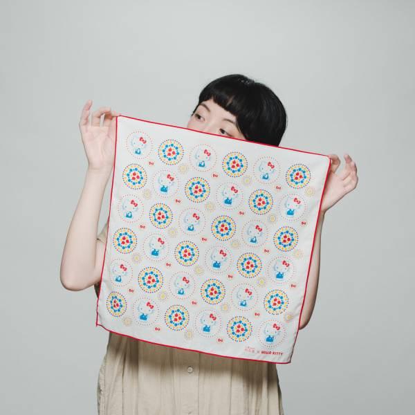包布巾/限定花色/印花樂x凱蒂貓 布巾, 包巾, 手帕