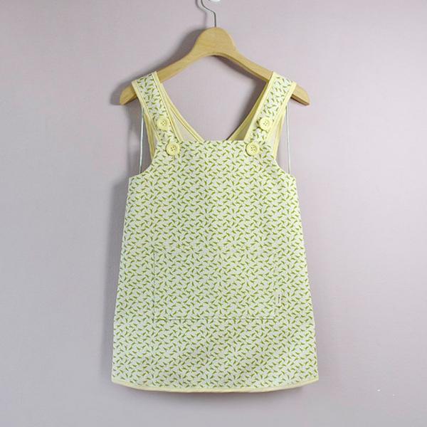 兒童圍裙-130/台灣八哥4號/橄欖綠 圍裙