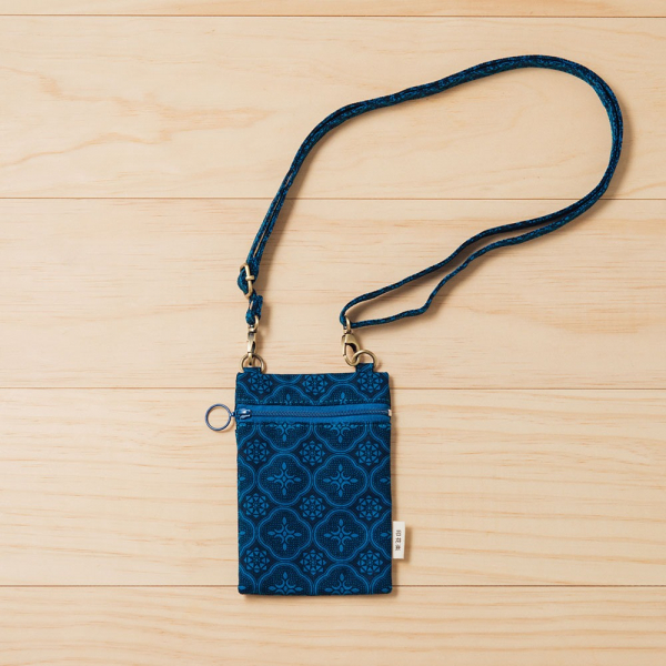 散步隨身包/玻璃海棠/宅邸深藍 隨身包, 側背包, 斜背包