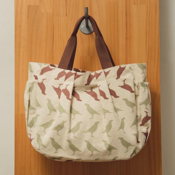 水餃手提包/台灣八哥5號/麻黃綠棕 側背包, 手提包