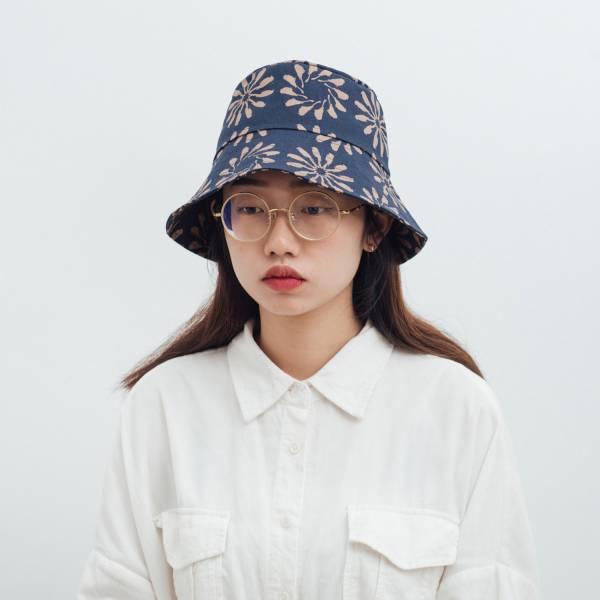遮陽漁夫帽/烏秋圈圈/海軍藍色 2019,漁夫帽,遮陽帽,台灣八哥