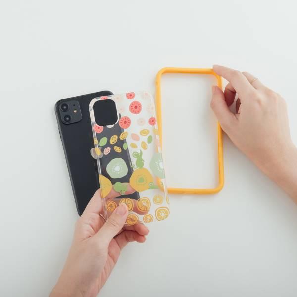 印花樂X犀牛盾NX背板-iPhone/限定花色/2020鼠來寶/黃綠 手機殼, 手機套, 犀牛盾, iPhone 手機殼