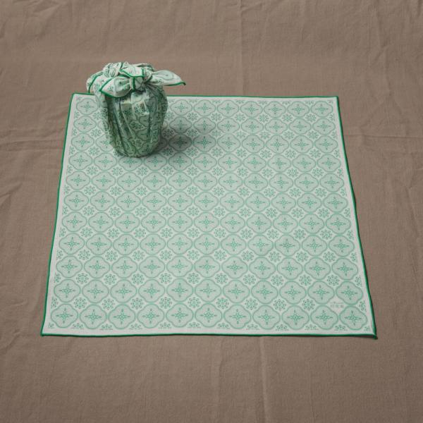 包布巾/玻璃海棠/琉璃綠色 布巾, 包巾, 手帕