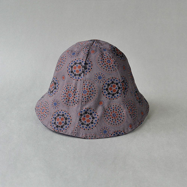 花瓣帽/煙火/夜空灰色 遮陽帽, 花瓣帽