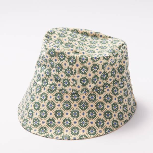漁夫帽M/海之印象/老磁磚2號/米黃灰綠 漁夫帽, 遮陽帽