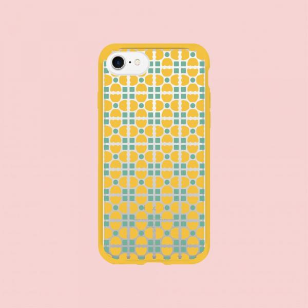 犀牛盾MOD NX手機殼/老磁磚4號/背蓋六零黃藍 手機殼, 手機套, 犀牛盾, iPhone 手機殼