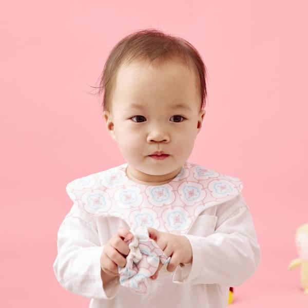 花瓣口水巾/玻璃海棠3號/幻想粉藍