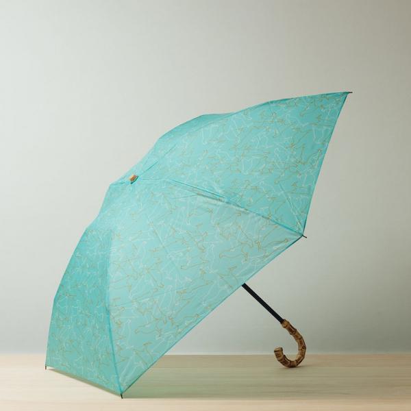 【花粉熱】小彎竹柄輕便折傘/台灣八哥/冰湖藍 晴雨兩用傘, 雨傘, 洋傘, 折疊傘
