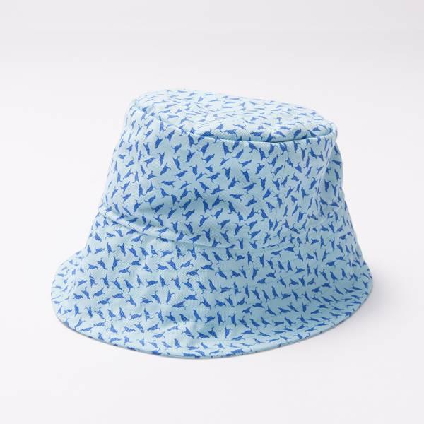 漁夫帽M/海之印象/台灣八哥4號/蔚藍色 漁夫帽, 遮陽帽
