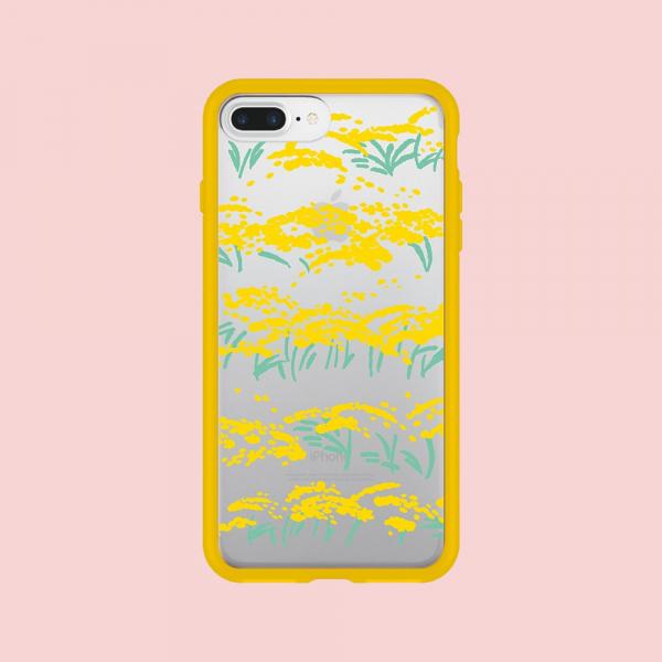 【預購】犀牛盾MOD NX手機殼/雜花/背蓋透明香稻黃 手機殼, 手機套, 犀牛盾, iPhone 手機殼