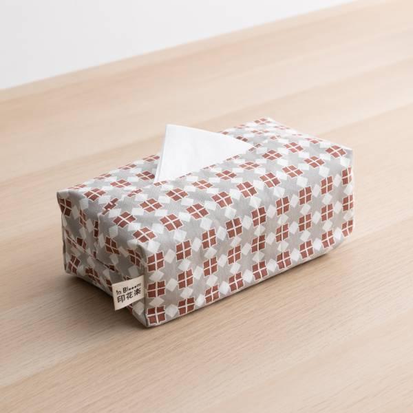 長方形面紙套/老磁磚/星芒紅棕 面紙套,面紙盒,