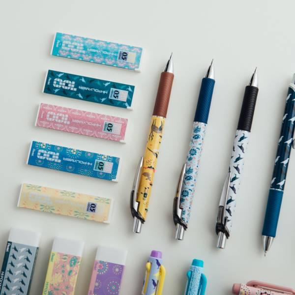 自動鉛筆實用組─B款(自動鉛筆+替芯+橡皮擦,各3)