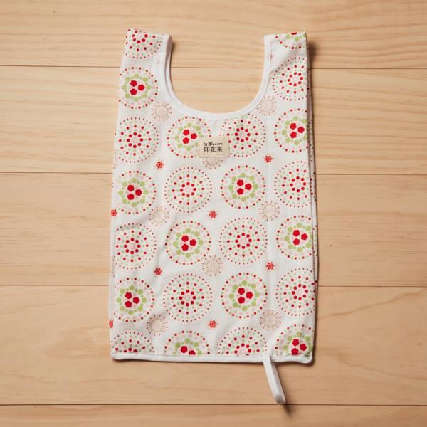 可收捲小背心袋/煙火/花園紅綠 手提袋, 背心袋, 購物袋