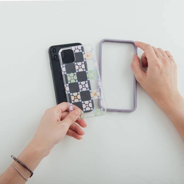 印花樂X犀牛盾NX背板-iPhone/老磁磚4號/糖果粉彩 手機殼, 手機套, 犀牛盾, iPhone 手機殼