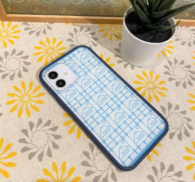 【預購/含iPhone12】印花樂X犀牛盾NX邊框背蓋兩用殼/鐵花窗/富士山藍色 手機殼, 手機套, 犀牛盾, iPhone 手機殼, iPhone 12