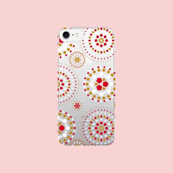 【現貨】印花樂X犀牛盾NX背板-iPhone X/煙火/背蓋透明白紅黃 手機殼, 手機套, 犀牛盾, iPhone 手機殼