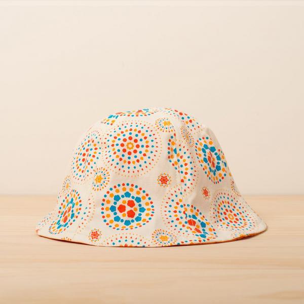 花瓣帽/煙火/輕快白日 遮陽帽, 花瓣帽