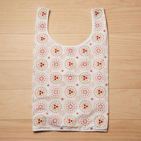 中型背心袋/煙火/花園紅綠 掛飾, 長巾, 手帕