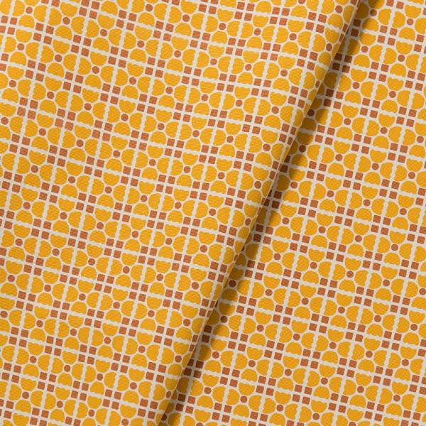 手印棉帆布-寬幅500g/y/老磁磚4號/復古黃褐 布料, 棉帆布