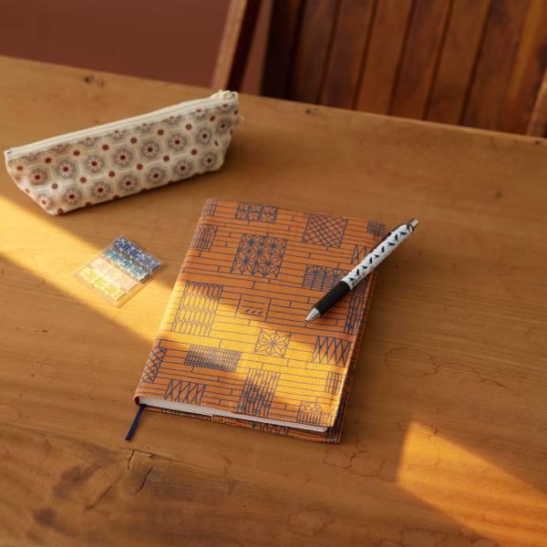 【送N次貼】書衣手帳/限定花色/鄰家的窗 書衣,小說書衣,印花樂手帳,無時效手帳,手帳,復古風,復古印花