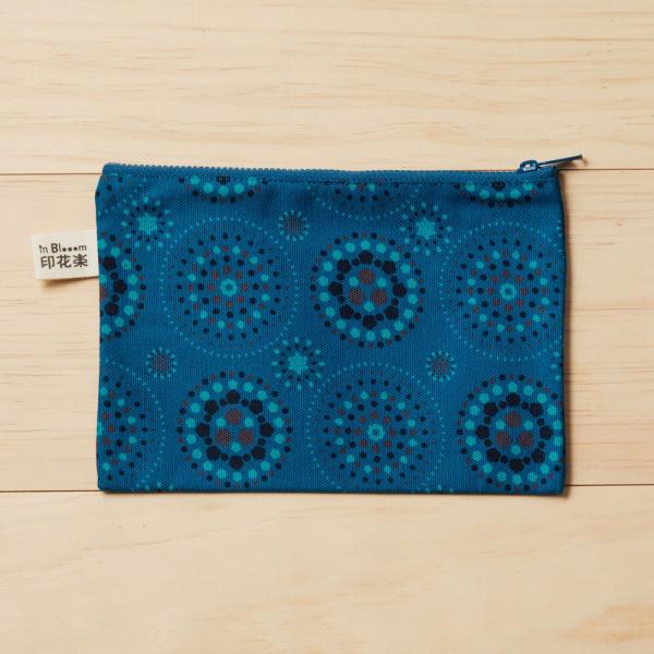 拉鏈文具袋-L14/煙火/星夜藍色 筆袋, 收納包, 文具袋, 化妝包, 盥洗包