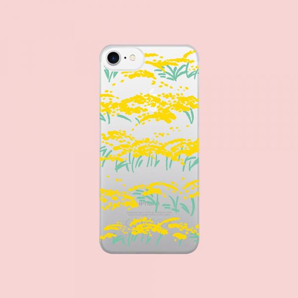 【預購】印花樂X犀牛盾NX背板/雜花/背蓋透明香稻黃 手機殼, 手機套, 犀牛盾, iPhone 手機殼
