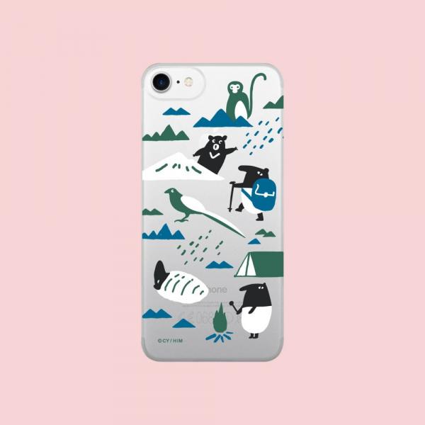【現貨】印花樂X犀牛盾NX背板 /印花樂x馬來貘-山林藍 手機殼, 手機套, 犀牛盾, iPhone 手機殼