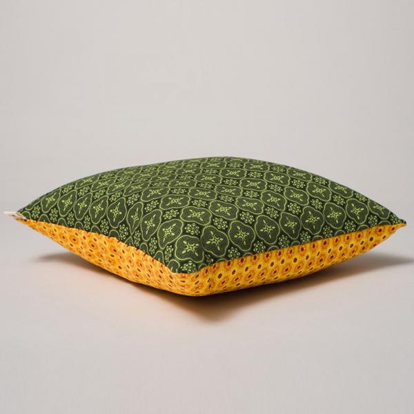 15SS/抱枕套/玻璃磁磚/綠黃 抱枕套, 抱枕