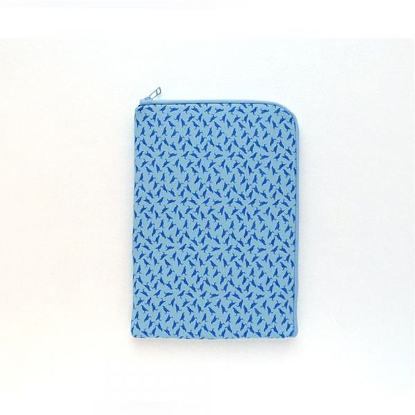 iPad收納包/台灣八哥4號/海之印象/蔚藍色 平板保護殼, 平板保護袋, iPad收納袋