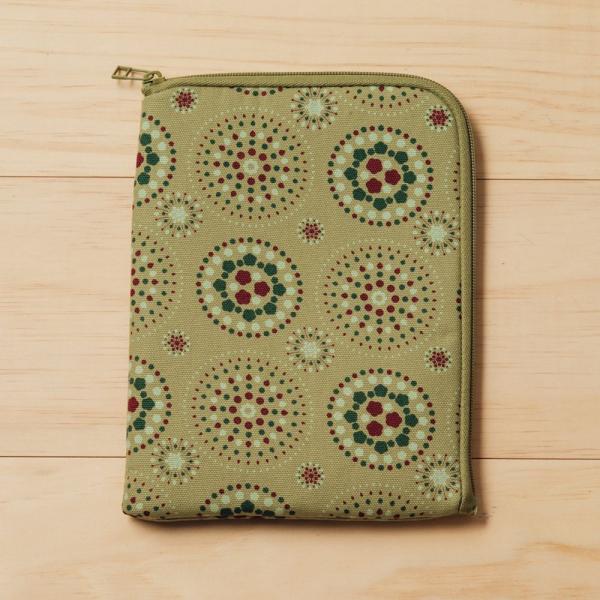 iPad Mini收納包/煙火/橄欖灰綠 平板保護殼, 平板保護袋, iPad收納袋