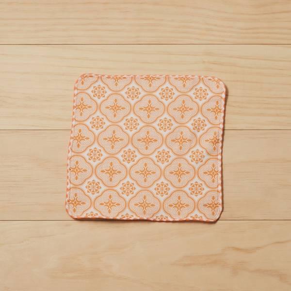 和風雙層小方巾/玻璃海棠/果實粉紅 毛巾, 手帕, 方巾