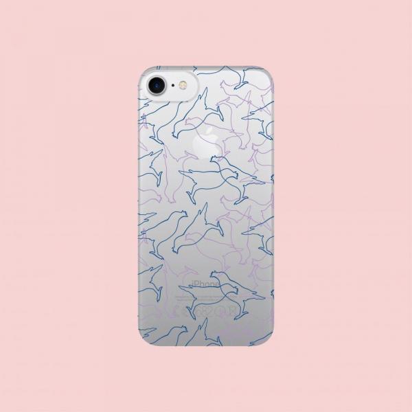 犀牛盾NX背板/台灣八哥/背蓋透明藍紫 手機殼, 手機套, 犀牛盾, iPhone 手機殼