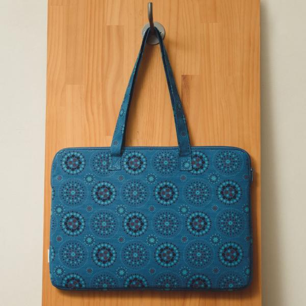 15.5吋筆電收納包/煙火/星夜藍色 筆電包, 筆電袋