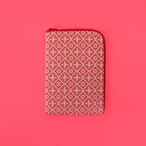 iPad Mini收納包/玻璃海棠/名伶深紅 平板保護殼, 平板保護袋, iPad收納袋