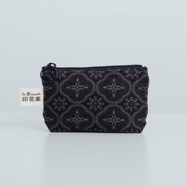 小東西拉鏈包/玻璃海棠/紳士黑色 2019,零錢包,雜物包,玻璃海棠