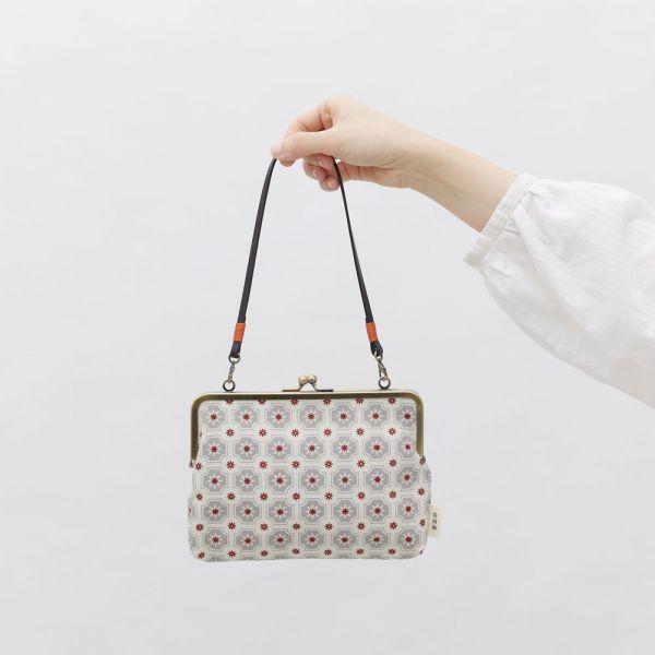 口金手帳包/老磁磚2號/雲塵灰色 口金包, 零錢包,手提包