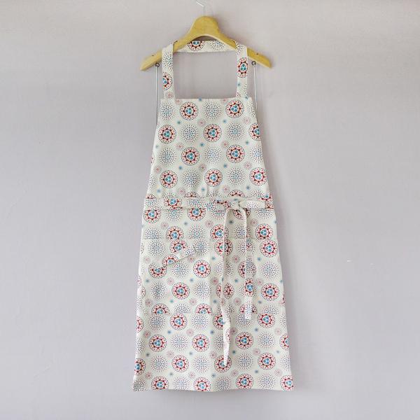 全身/半身兩用圍裙/煙火/絢爛粉紅 圍裙