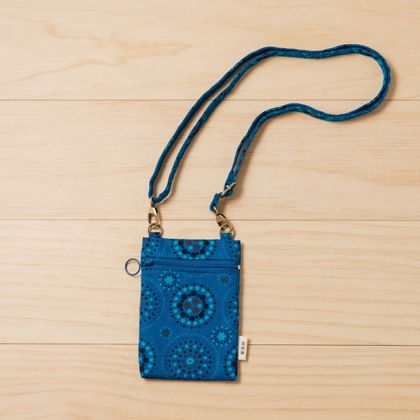 散步隨身包/煙火/星夜藍色 隨身包, 側背包, 斜背包
