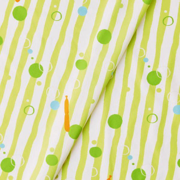寬幅平織印花棉布(數位)/碎冰泡泡/金桔檸檬 戀夏冰果室 ,冰果室 ,復古印花,布料