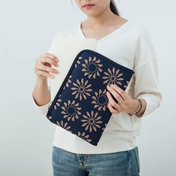 """10.5"""" iPad收納包/烏秋圈圈/海軍藍色 平板保護殼, 平板保護袋, iPad收納袋"""