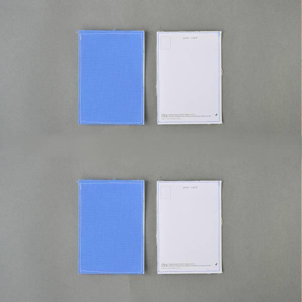 課程材料/明信片6入組(不挑色) 明信片,手作,絹印