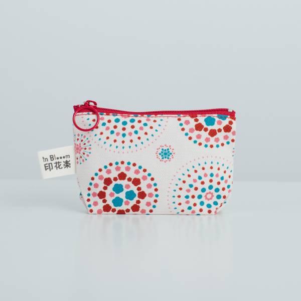 小東西拉鏈包/煙火/絢爛粉紅 2019,零錢包,雜物包,煙火