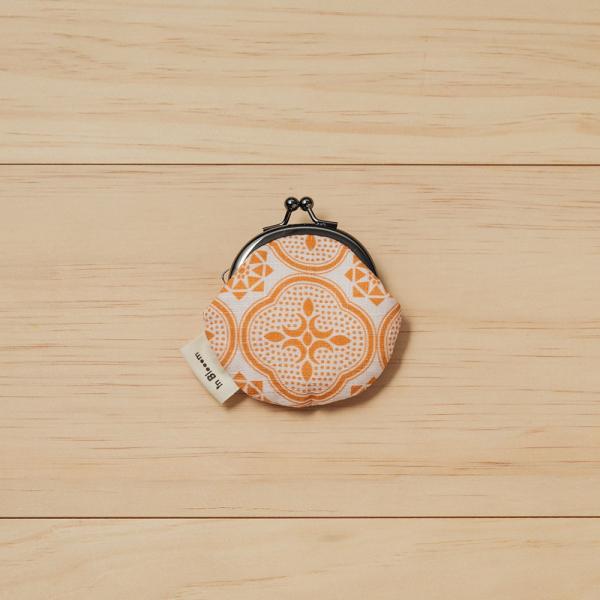 和風零錢小口金包/玻璃海棠/果實粉紅 口金包, 零錢包
