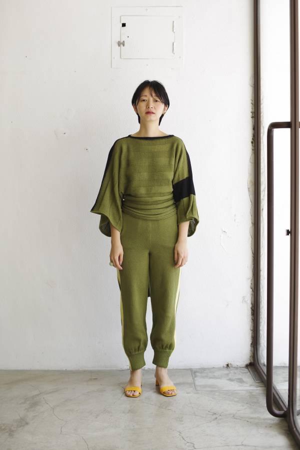 pelleq - waist wrap jumper