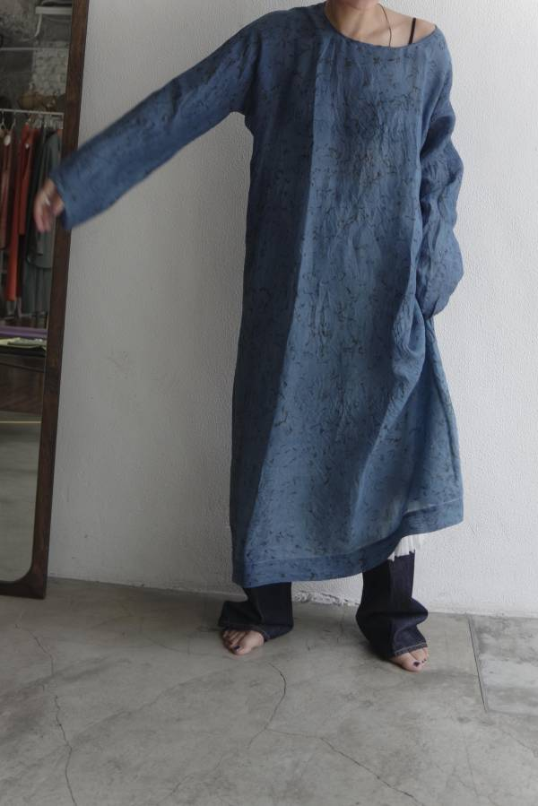 dosa - long tunisian tunic temple blessings silk