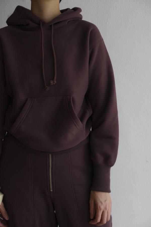 pelleq - heavy weight hooded sweat shirt