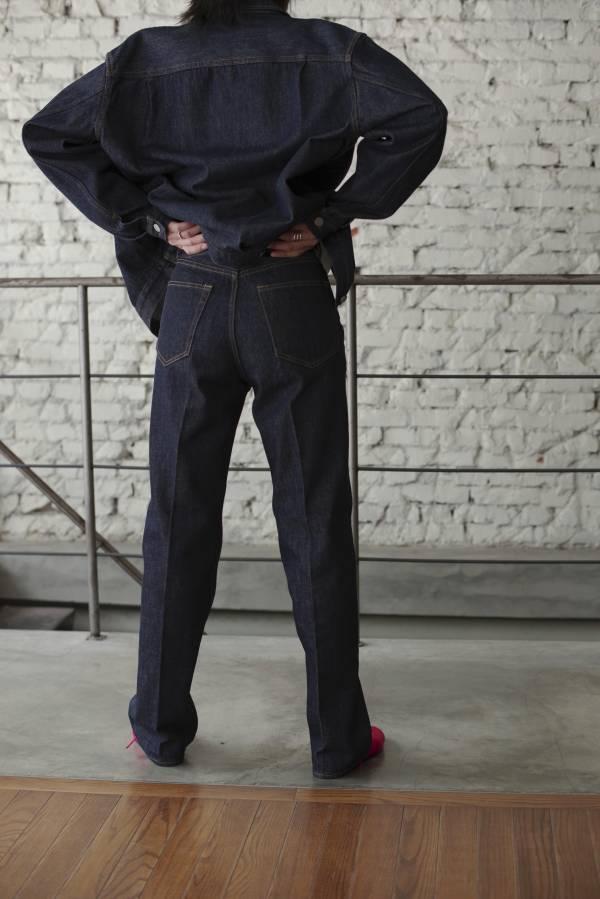 AURALEE - hard twist denim 5p pants