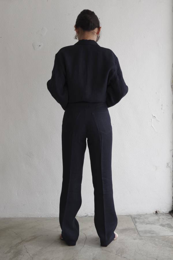 AURALEE - linen double face 5P pants